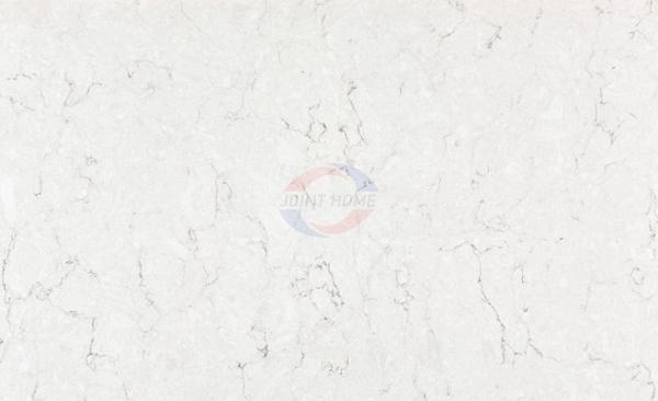 Snowy Ibiza Nebula Alpha Quartz Stone Slab For Countertops Silestone 2