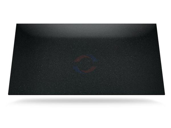 Stellar Negro - Silestone Quartz Stone Slab Colours Surfaces 2